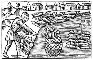 Sildefiskeri ved Skanør