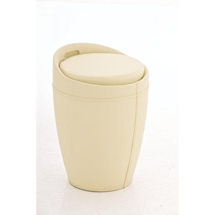 Sitzhocker Mit Stauraum sitzhocker hanne mit stauraum und