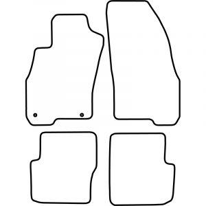 Automatten Fiat Punto Evo (5 deurs) 2009-2014