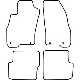Automatten Fiat Punto Evo (5 deurs) 2014-