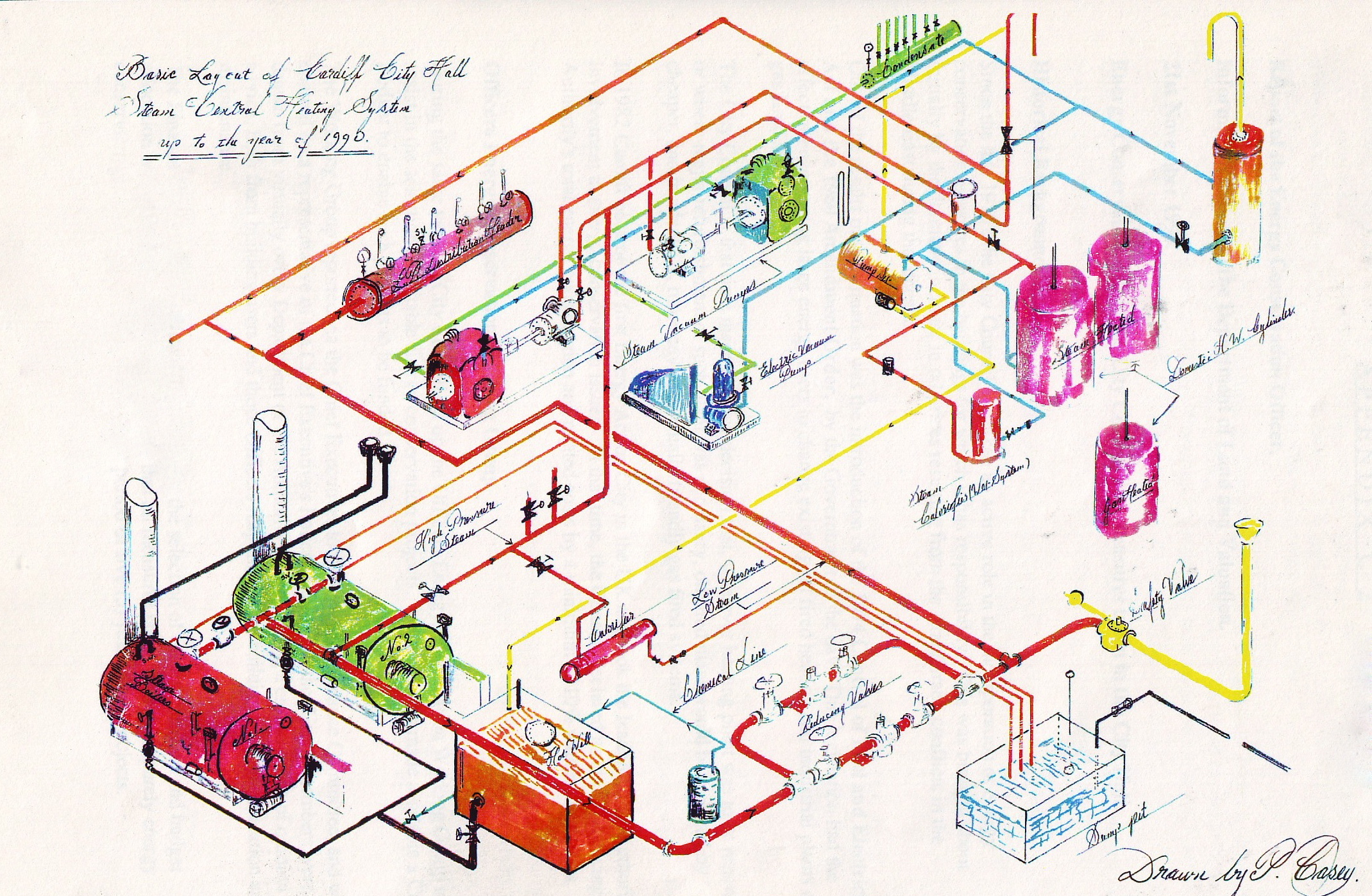 isometric piping diagram ford f150 wiring for radio city hall cardiff