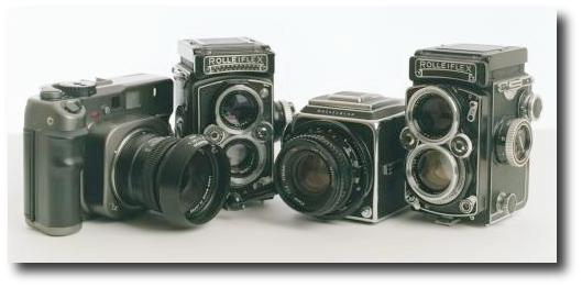 Group Photo of Cameras