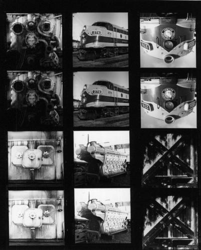 Hasselblad 80mm CT* Planar contact sheet