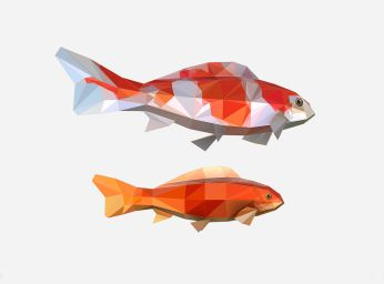animated-low-poly-art-flock-carp-koi-fish-3d-model-low-poly-animated-rigged-max-fbx-ma-mb