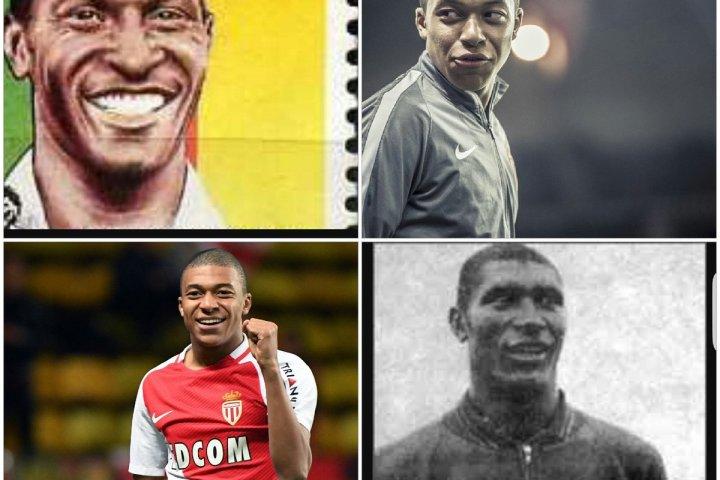 Mbappé Leppé and Kylian Mbappé