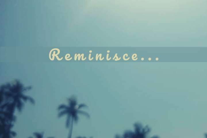 Goodbye 2018: Reminisce