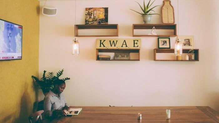Café Kwae, vue de l'intérieru