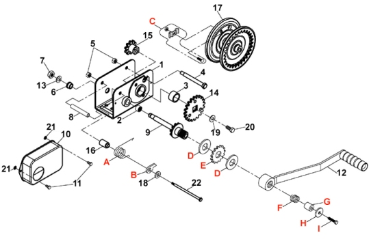Dutton-Lainson Winch Diagram : hewittparts.com