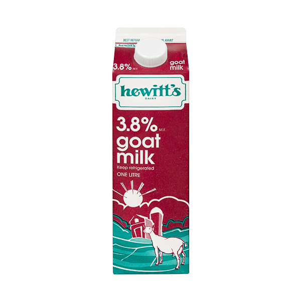 goat milk products hewitts