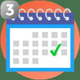 Calendrier de débarras de maison ou d'appartement et choix de la date pour vider une maison, un appartement, une cave ou un grenier ou pour tout autre débarrassage à Crolles et alentours (Sassenage, Noyarey, Veurey).