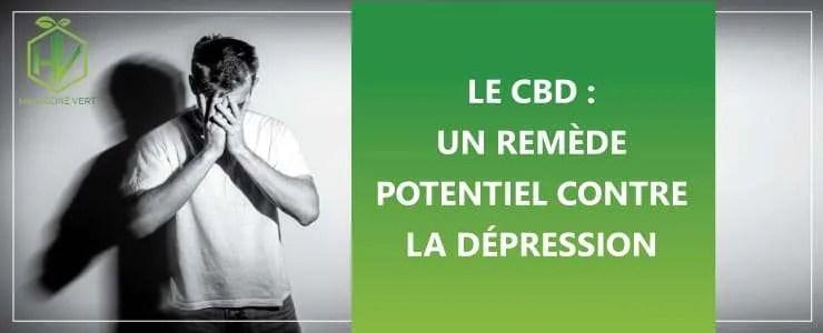 Le CBD : un remède potentiel contre la dépression