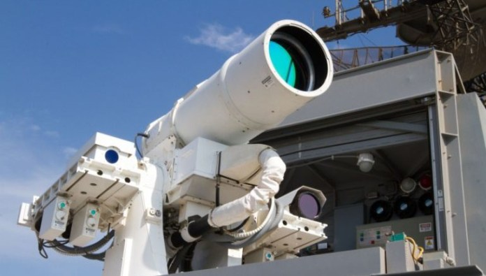 5 Hi-Tech Laser Weapon Systems That Currently Exist