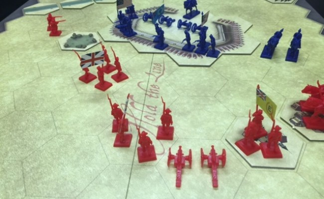 Hexasim Hold The Line The American Revolution Remastered