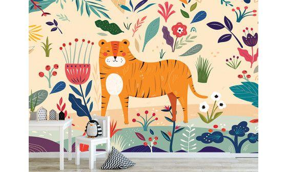 achat papier peint animaux sauvages