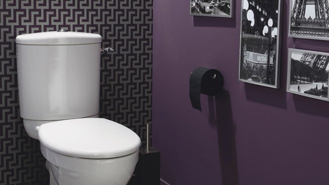 Ides dco  tableau pour des toilettes originales  Le Blog Hexoa