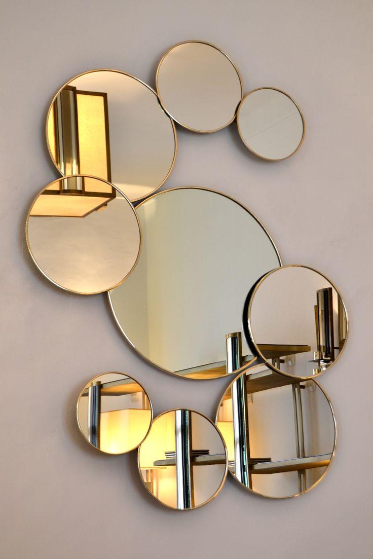Le miroir un objet dcoratif design pour le dcor intrieur