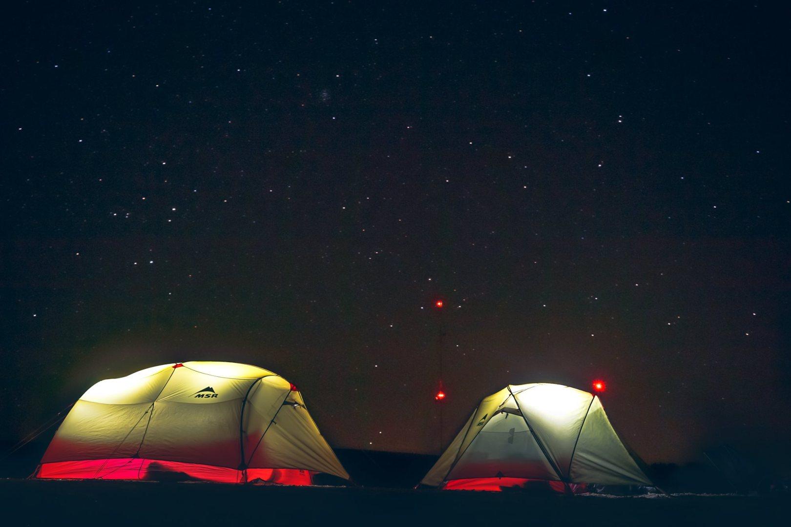 C'est la fête dans les tentes