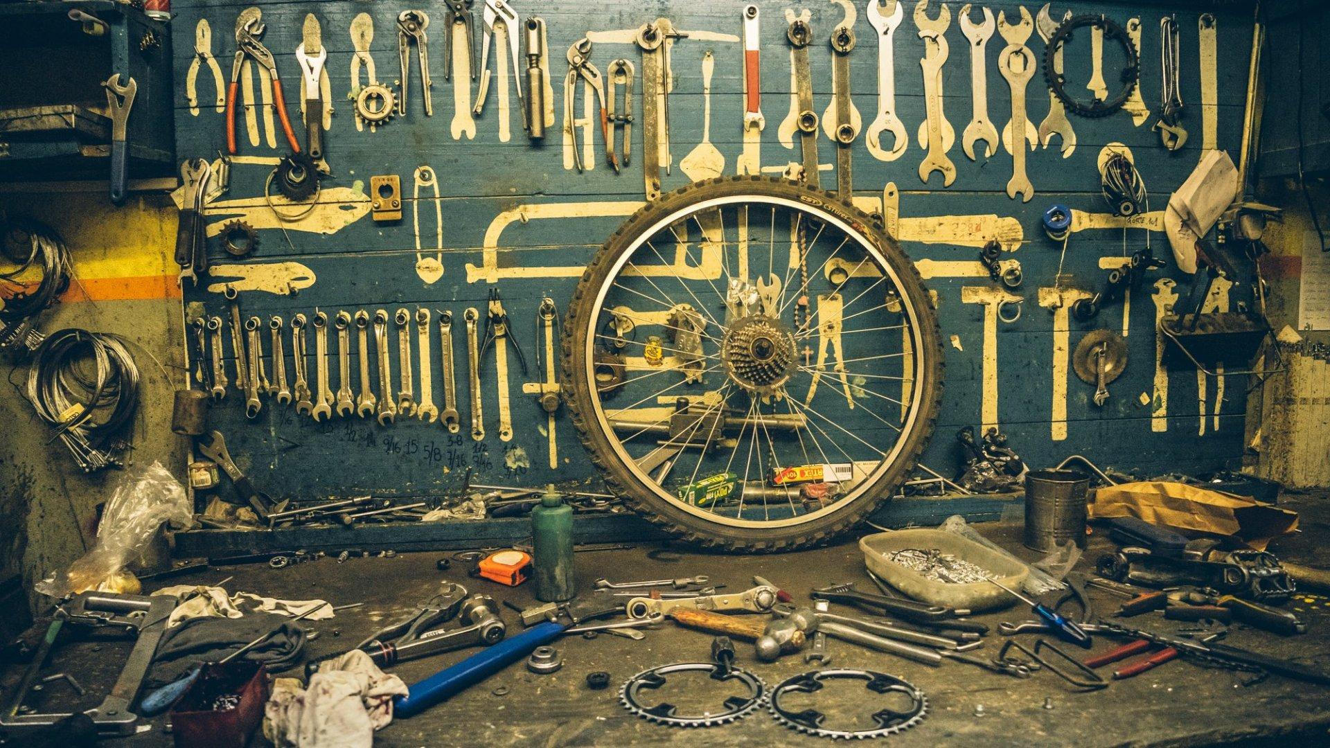 Par moment nous rêvons d'avoir tant d'outils sur nous