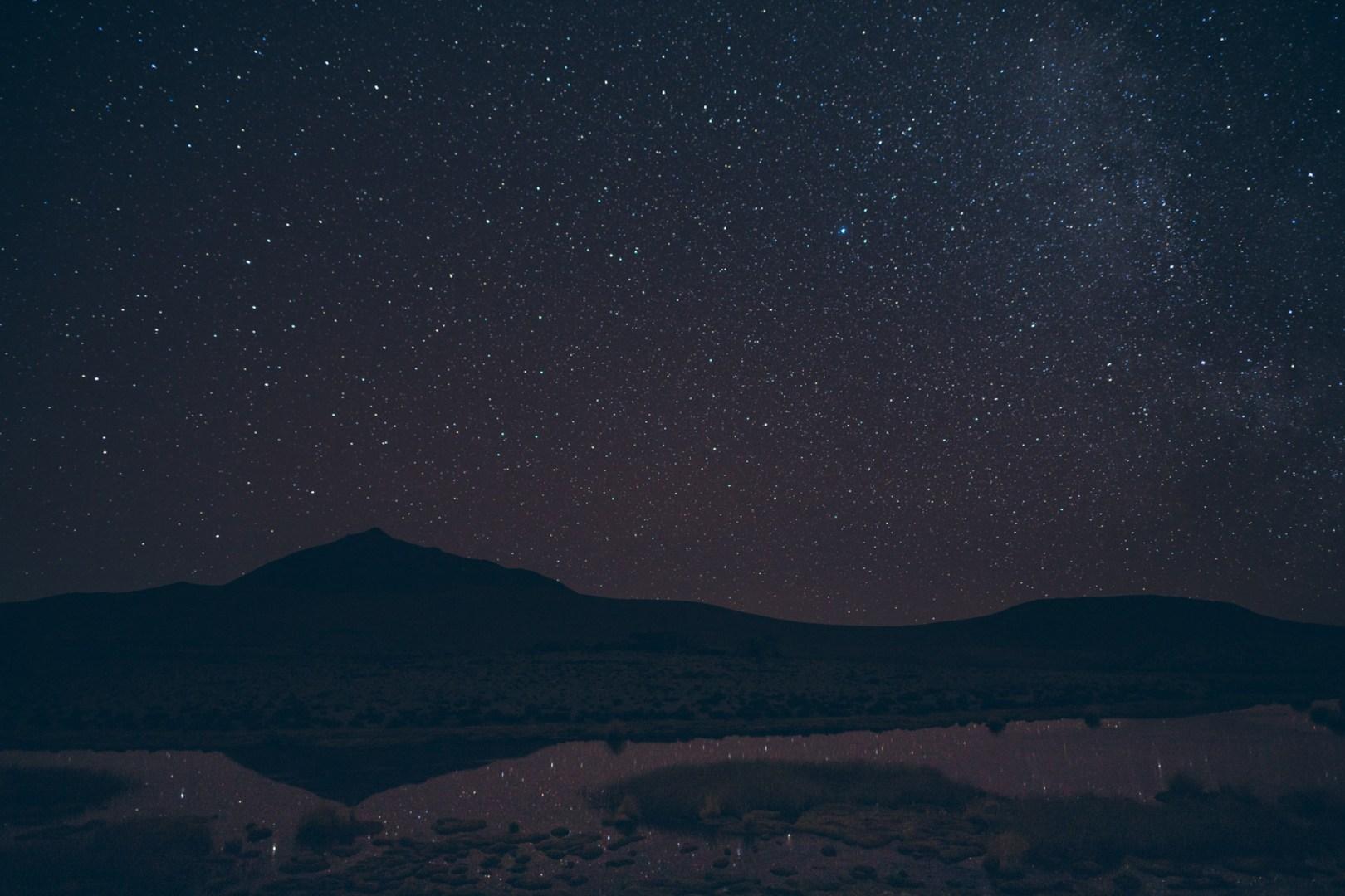 Montagnes de nuit