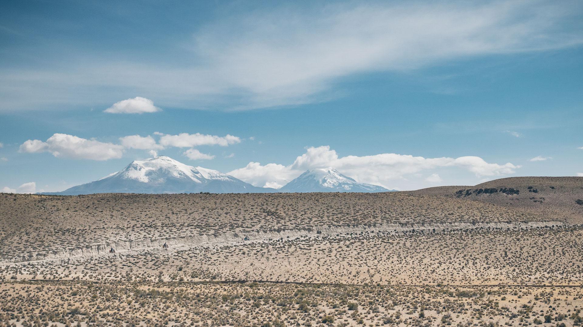 On continue dans le parc national Las Vicunas