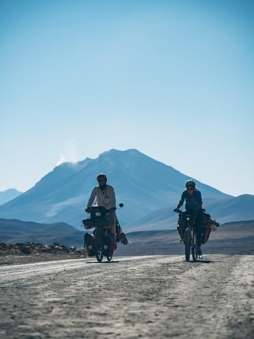 On est de retour sur une belle piste pour rejoindre Uyuni