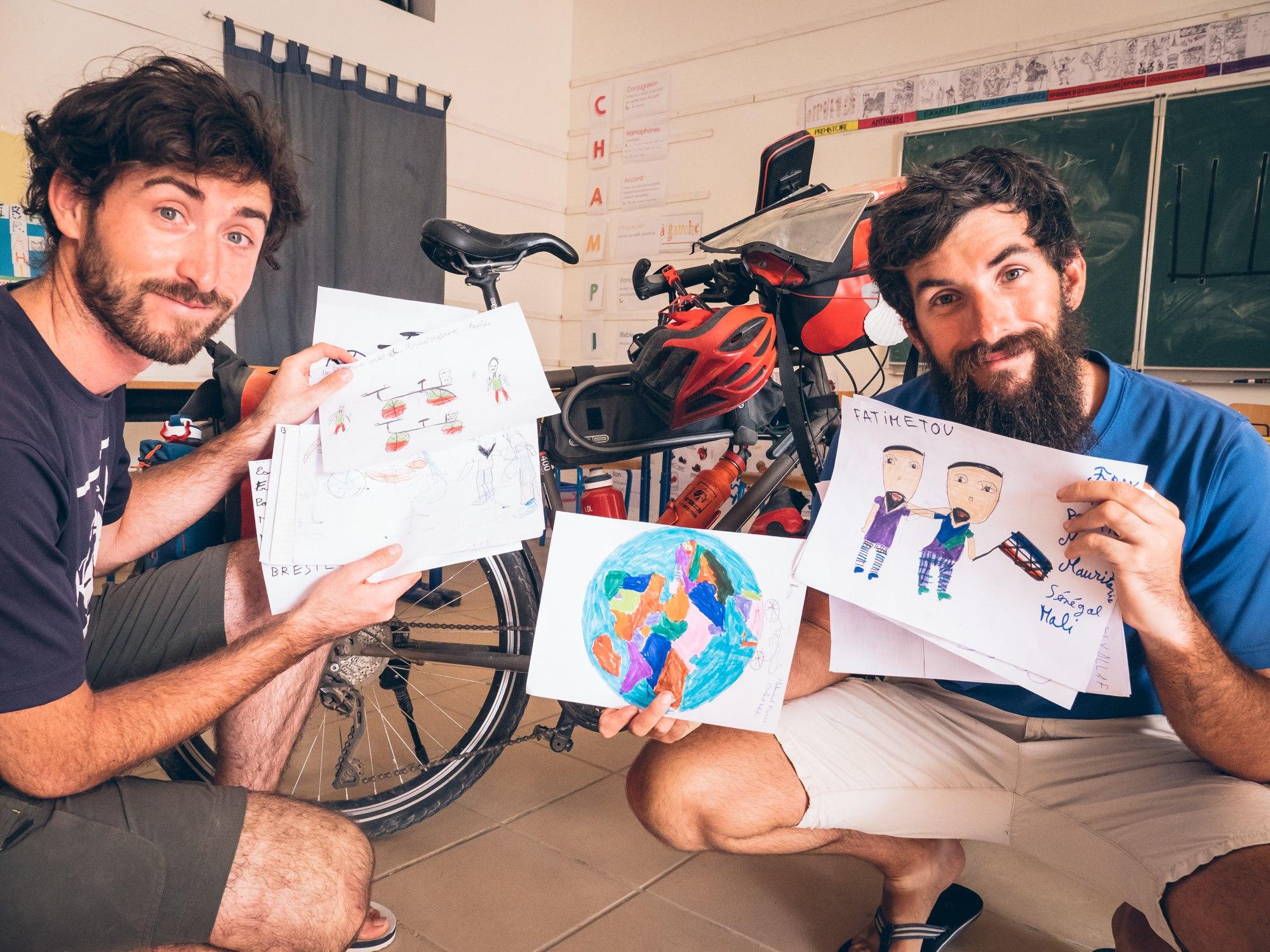 Merci aux élèves du Lycée Privé Les Méharées pour les dessins