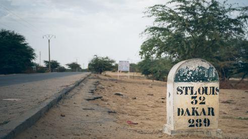 Juste après la frontière du Senegal voila le programme de la journée Saint Louis