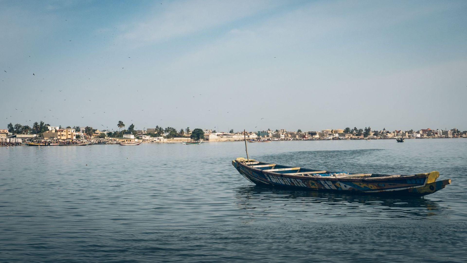 Bateau de pêche à Dakar