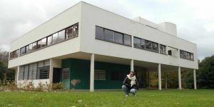 VILLA SAVOYE Le Corbusier ▏ Planos, fotografías, LEGO