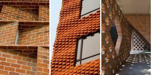 TIPOS de APAREJOS de LADRILLO – Tabiques para paredes interiores DECORACIÓN