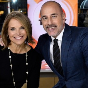 Katie Couric Matt Lauer TODAY
