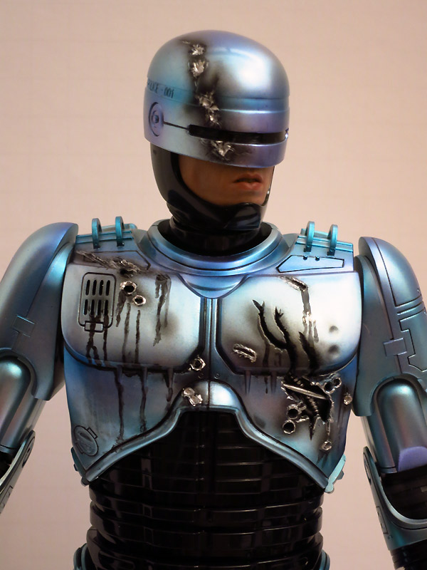 Hot Toys Robocop Refinish