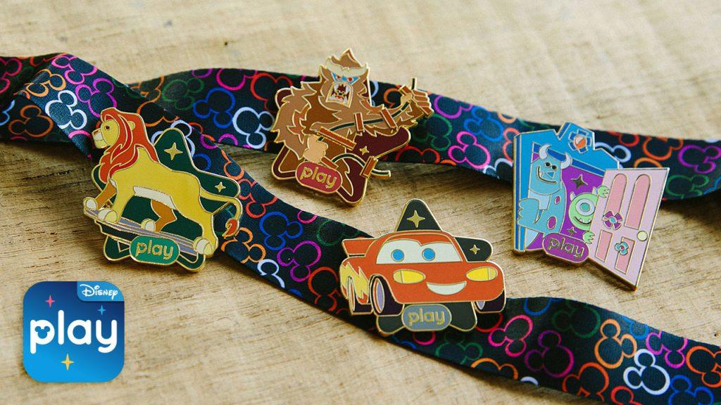 Disney Play Pins