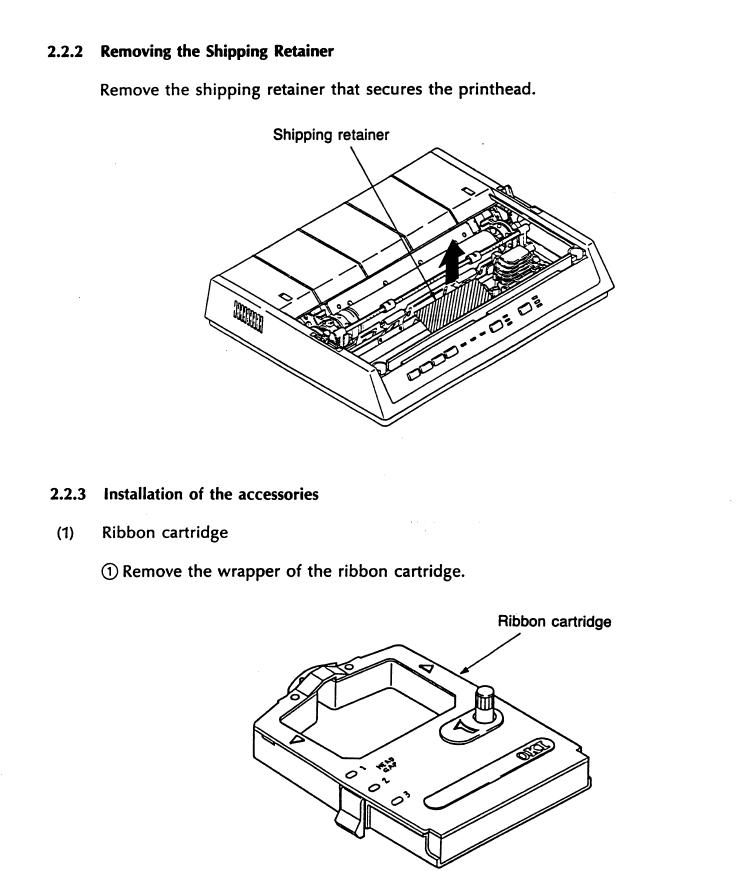 Okidata MICROLINE 184 TURBO PRINTER REPAIR Manual PDF