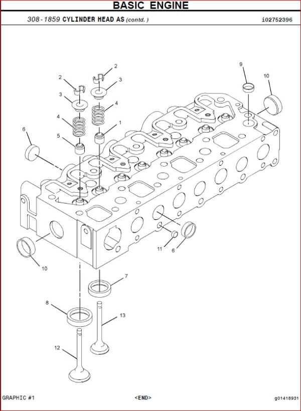 CC2POMSNGAU Caterpillar C2.2 Industrial Parts Engine