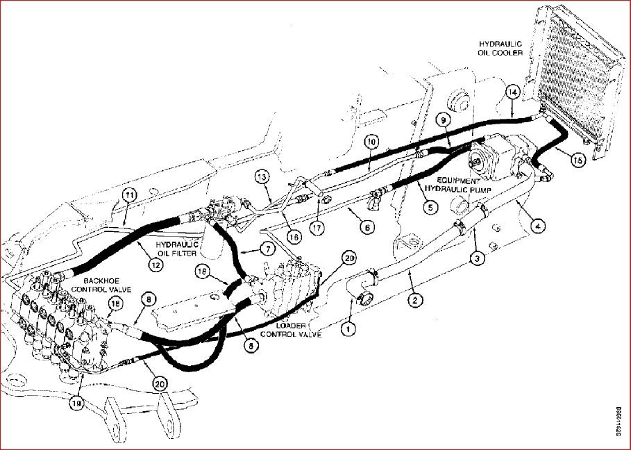 Case 590 Super L Ck Backhoe Loader Parts Catalog Manual