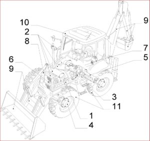 Case 590sr Series 2 Backhoe Loader Service Parts Catalogue