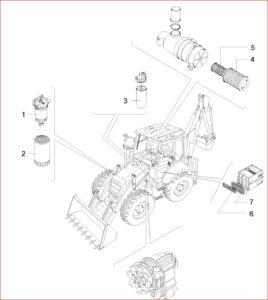 Case 590sr Series 2 Backhoe Loader Service Parts Catalogue