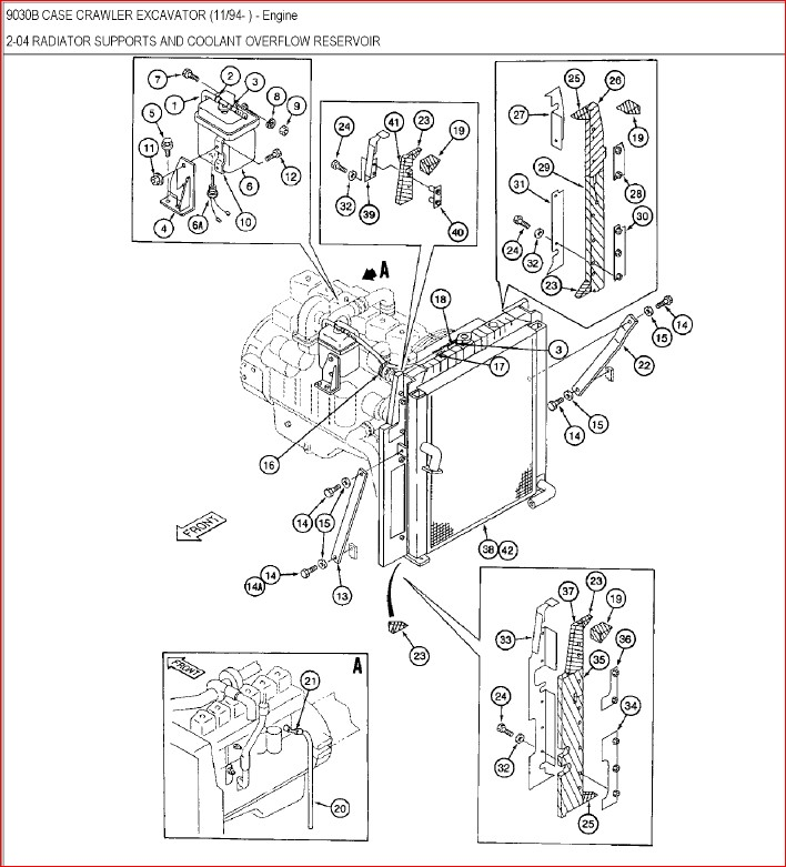 Case 9030b Excavator Parts Catalog Manual-PDF DOWNLOAD