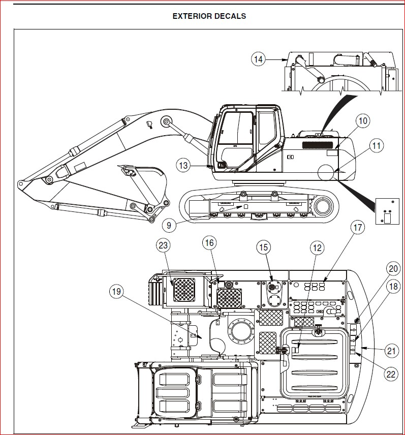 Case Cx130b Tier 3 Crawler Excavator Operators Manual-PDF