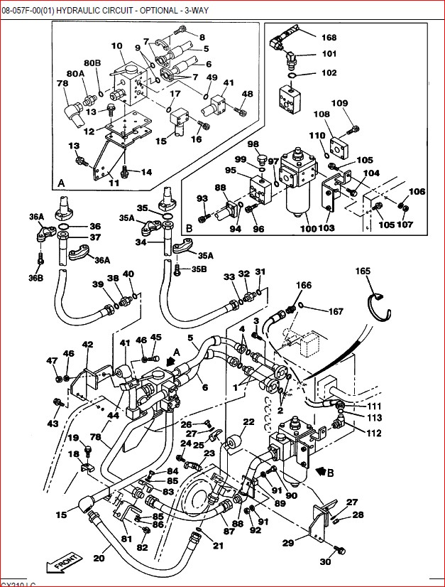 Case Cx210 CRAWLER Excavator Parts Catalog Manual-PDF