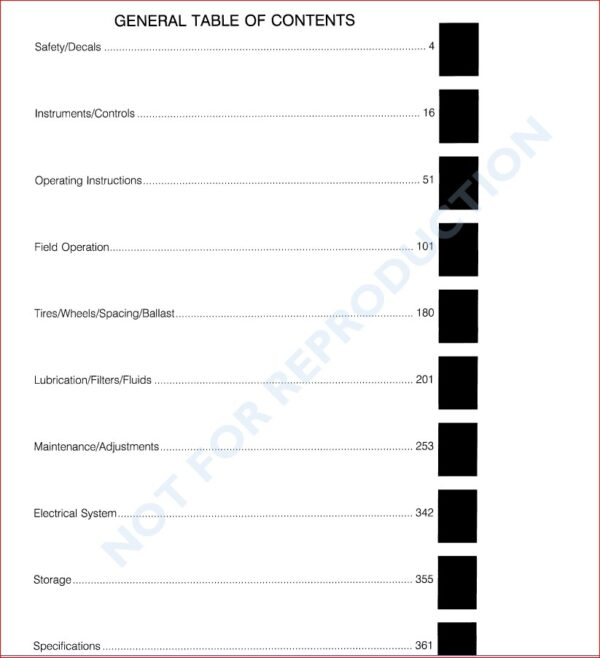Case Ih 1660 Combine Operators Manual And 3 Supplement