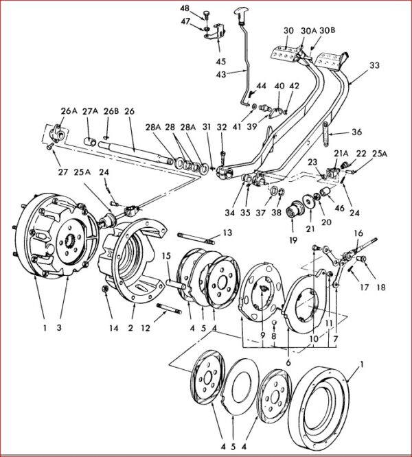 Ford New Holland 5610 4 Cylinder Ag Tractor Illustrated