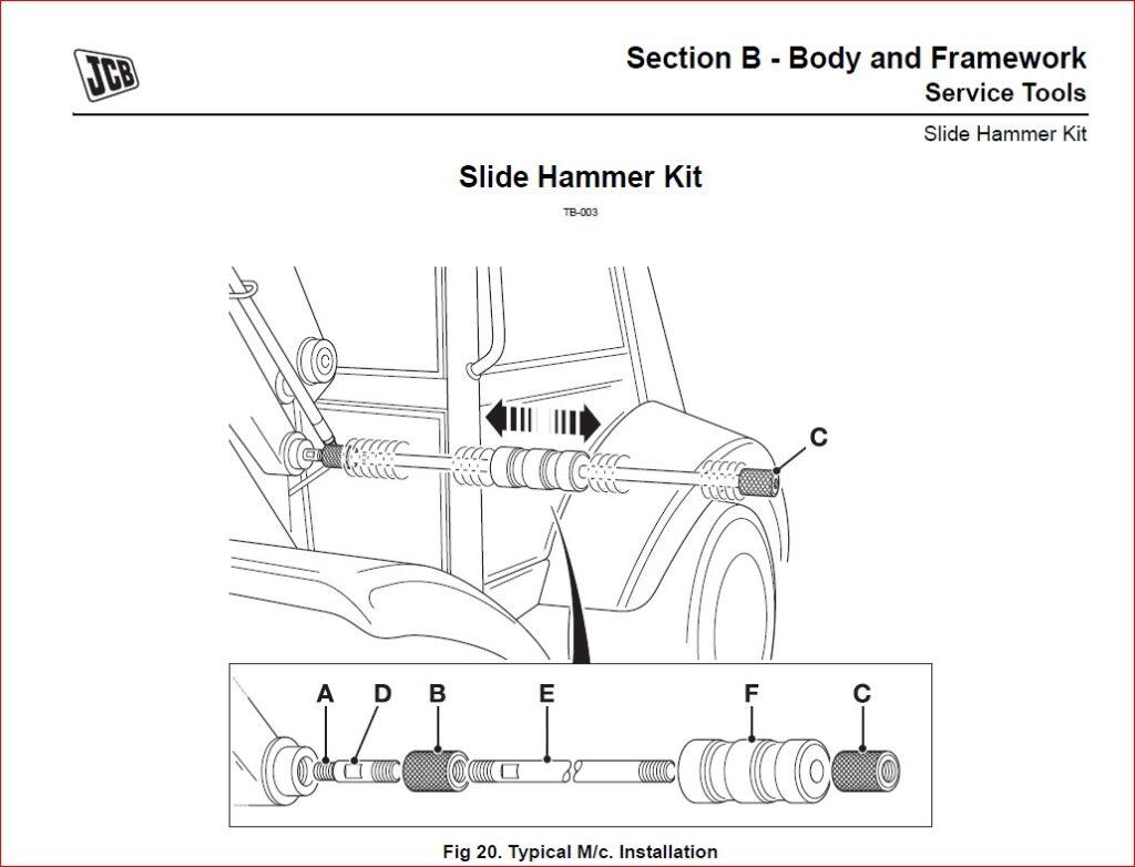 JCB Midi CX Backhoe Loader Service Repair Workshop manual