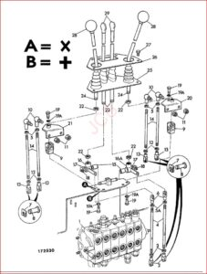 Jcb 2cx Backhoe Loader Parts Catalog Manual SN 00657000