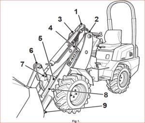 Jcb 403 Wheel Loading Shovel Workshop Repair Service