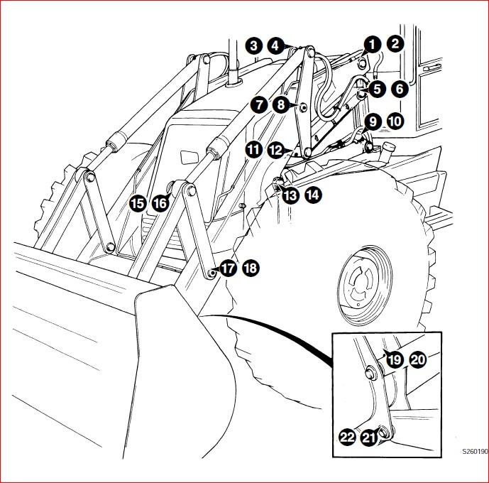 Jcb 4cx Backhoe Loader 903000 Onwards Repair Service