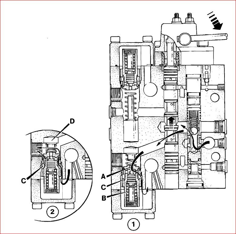 Jcb 530b hl 525b hl Loadall Range Servo Hydraulics Manual