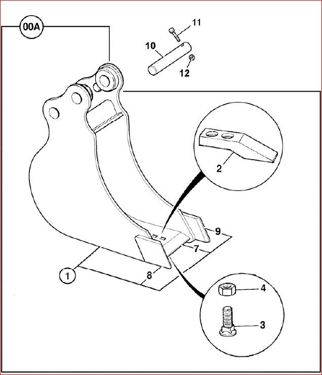 Jcb 8017 Mini Crawler Excavator Parts Catalogue Manual
