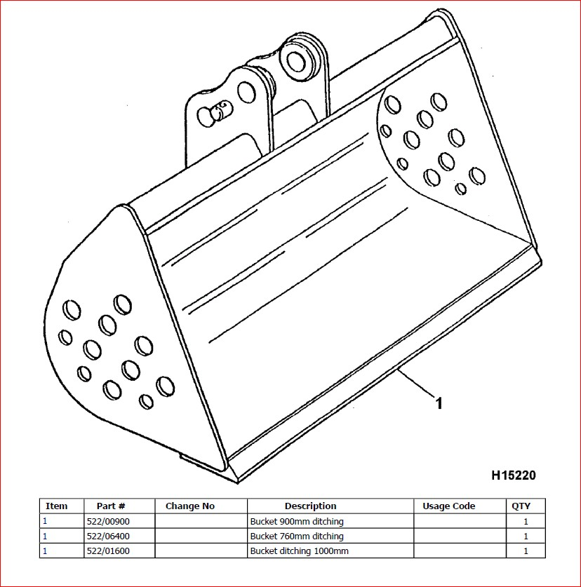Jcb 8017 Mini Crawler Excavator Parts Catalogue Manual